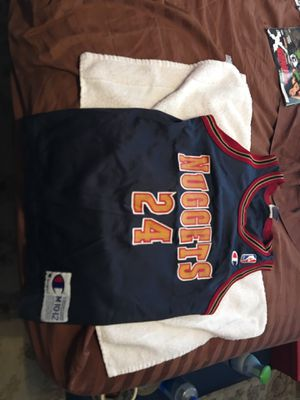 Vintage Denver nuggets jersey for Sale in Payson, AZ