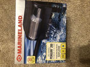 Marineland penguin 200 aquarium filter for Sale in Dallas, TX