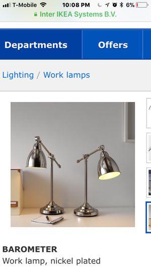 IKEA Lamps for Sale in Lodi, CA