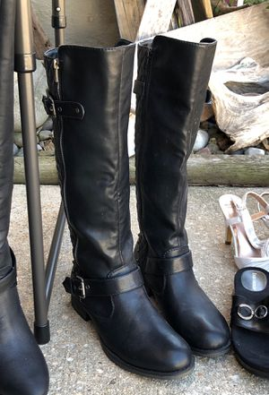 Black Riding Boots for Sale in Delaware City, DE