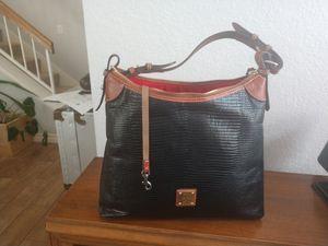 Dooney & Bourke lizard-embossed leather hobo bag for Sale in Las Vegas, NV