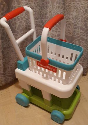 Fisher price kids play cart w removable basket for Sale in Tampa, FL