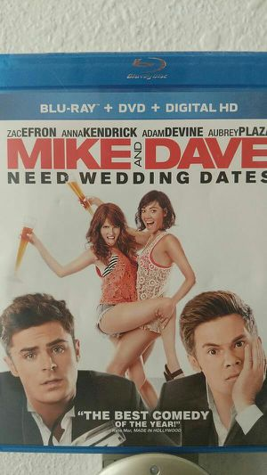 Mike and Dave need wedding dates Blu-ray DVD for Sale in Poway, CA
