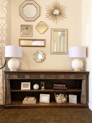 Solid Wood Console Table for Sale in Gilbert, AZ