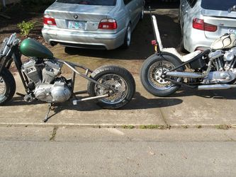 1993 Harley Sportster Hardtail Chopper springer for Sale in Hillsboro,  OR