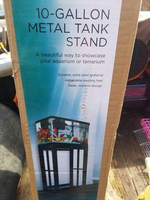 Metal 10 Gallon Aquarium Stand for Sale in Monrovia, MD