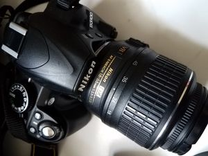 NIKON D3100 with lenses and carry case for Sale in Katy, TX