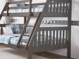Twin over full bunk bed comes in different color for Sale in Fort Worth, TX