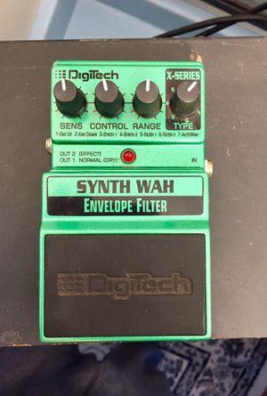 DigiTech Synth Wah Envelope Filter guitar pedal for Sale in Denver, CO