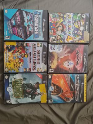 6 Nintendo GameCube games for Sale in Anaheim, CA
