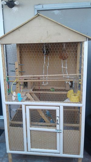 Bird Cage Wooden for Sale in Fremont, CA