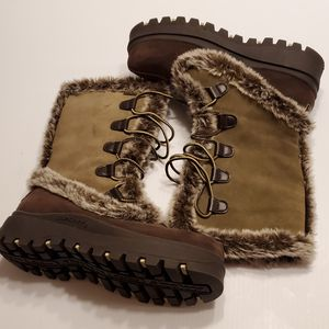 Skechers Womens Brown Suede Faux Fur Winter Boots Sz 8 US, 38 EUR New, never been worn. No box for Sale in Campbell, CA