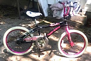 Spy girl girls bmx style bike only rode 3 times like brand new paid $120 will take $40 for Sale in Collinsville, IL