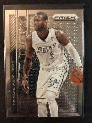 Dwyane Wade 2013 Panini Prism Basketball Card. Dwyane Wade Miami Heat Basketball Trading Card for Sale in Chicago, IL
