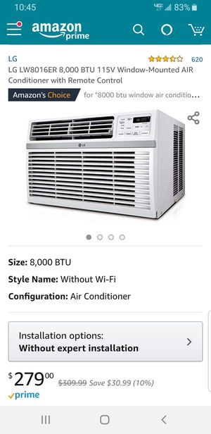 Window-mounted Air Conditioner for Sale in Daniels, MD