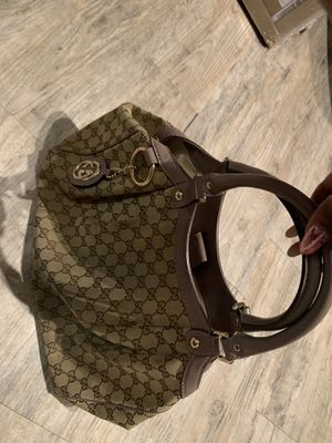 Gucci monogram bag with lilac handles for Sale in Atlanta, GA