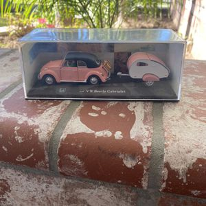 VW Beetle Cabriolet w/case - Pink for Sale in Buena Park, CA