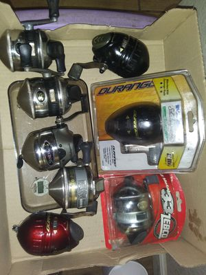 Fishing reels Zebco and Shakespeare for Sale in Oklahoma City, OK