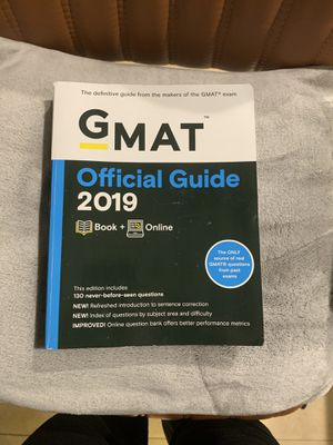 GMAT Official Guide 2019 for Sale in Miami, FL