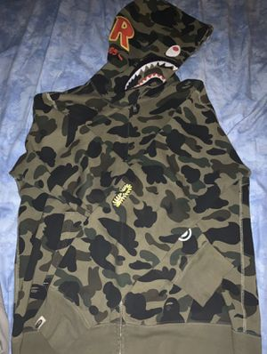 Bape 1st camo shark hoodie for Sale in Temecula, CA