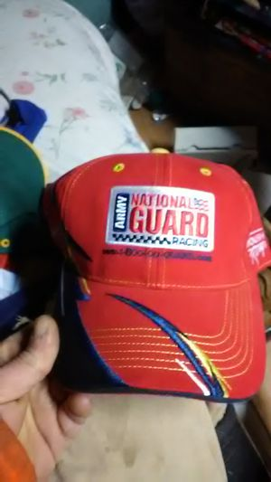 Army national guard racing rough racing#16 checkered flag sports vintage new never worn hat for Sale in Shelton, WA