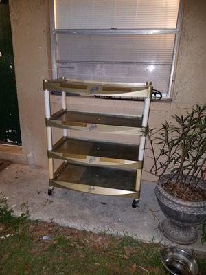 Plastic shelving unit for Sale in Fort Meade, FL