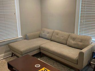 Gray Sofa and Chaise for Sale in Atlanta,  GA