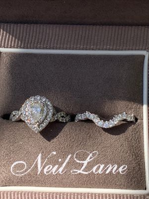 Neil Lane Bridal set 1 1/2 crt (Like New) Band never worn for Sale in Bellingham, WA