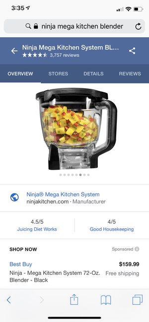Ninja mega kitchen blender for Sale in Rolla, MO