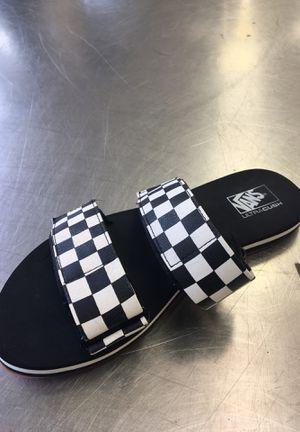 Van sandals size 7 for Sale in Pasadena, TX