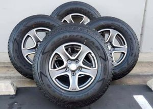 """17"""" Jeep Wrangler Brand new wheels and tires NEW for Sale in Solana Beach, CA"""