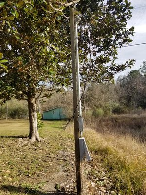 Meter Poles, and shed for Sale in Gulfport, MS