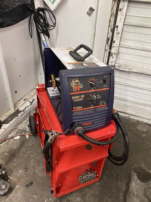 Welder. and cart for Sale in Portland, OR