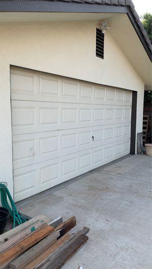 Garage door with opener ( 16' by 7' ) for Sale in Bakersfield, CA