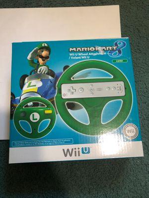 Wii U Wheel Attachment for Mario Kart 8 for Sale in Hanover Park, IL