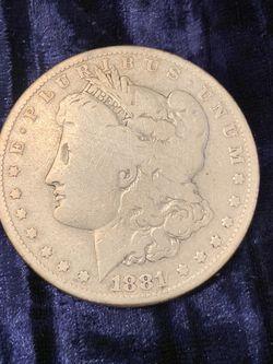 1881-O Silver Morgan Dollar for Sale in Gilbert,  AZ