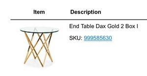Z Gallery Dax End Table for Sale in Santa Monica, CA