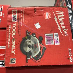 """Brand New Milwaukee M18 6-1/2"""" Circular Saw only Asking $100 for Sale in La Habra Heights, CA"""