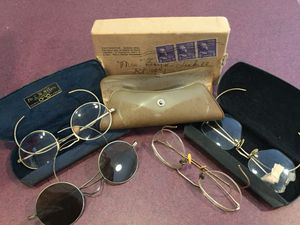 Vintage eyeglasses with replacement lense in original shipping box for Sale in Creedmoor, NC