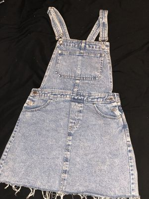 Vintage distressed overall dress for Sale in McCordsville, IN