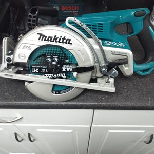 Brand New Makita 7 And 1/4 36 Volt Cordless Saw No Batteries No Charger If This Adds Up But Still Available $150 Firm for Sale in Seattle, WA