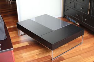 BoConcept Chiva Coffee Table with integrated storage compartments for Sale in Seattle, WA