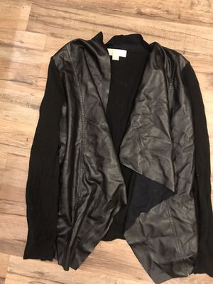 Michael Kors Leather jacket - m for Sale in Baton Rouge, LA