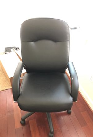 Leather Office chair for Sale in Falls Church, VA