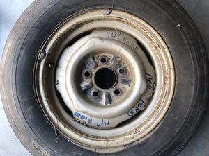"1960'S MUSTANG / FALCON 14"" FORD FIVE LUG STEEL RIM. ONE ONLY for Sale in San Diego, CA"