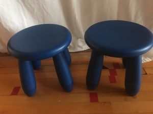 Children's Stool Chairs - set of two for Sale in Dripping Springs, TX