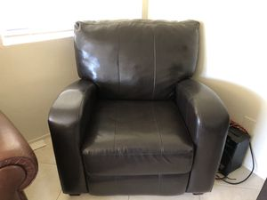 Premium Leather Recliner for Sale in San Diego, CA