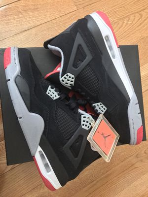 "*NEW* Air Jordan Retro 4 ""Bred"" (2012 Release - SZ. 8) for Sale in Alexandria, VA"