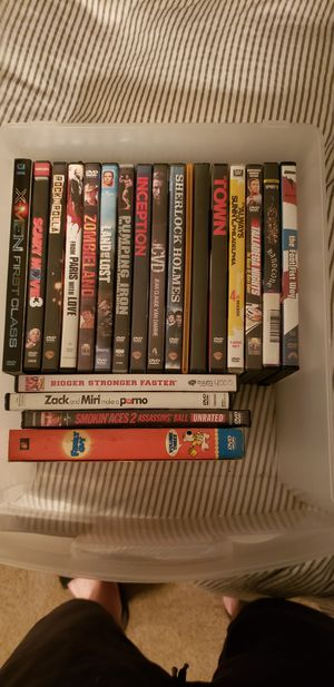 DVDs, about 20 for Sale in Tualatin, OR