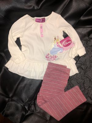 Disney Princess & TinkerBell Top and bottom for Sale in Denver, CO